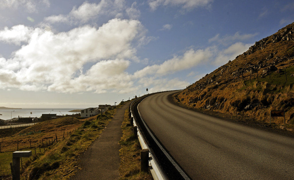 färöer inseln - thorshaven - norðari ringvegur