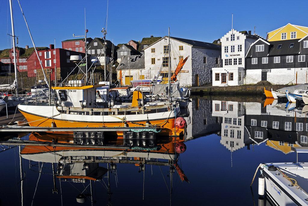 färöer inseln - thorshaven - am hafen teil 2