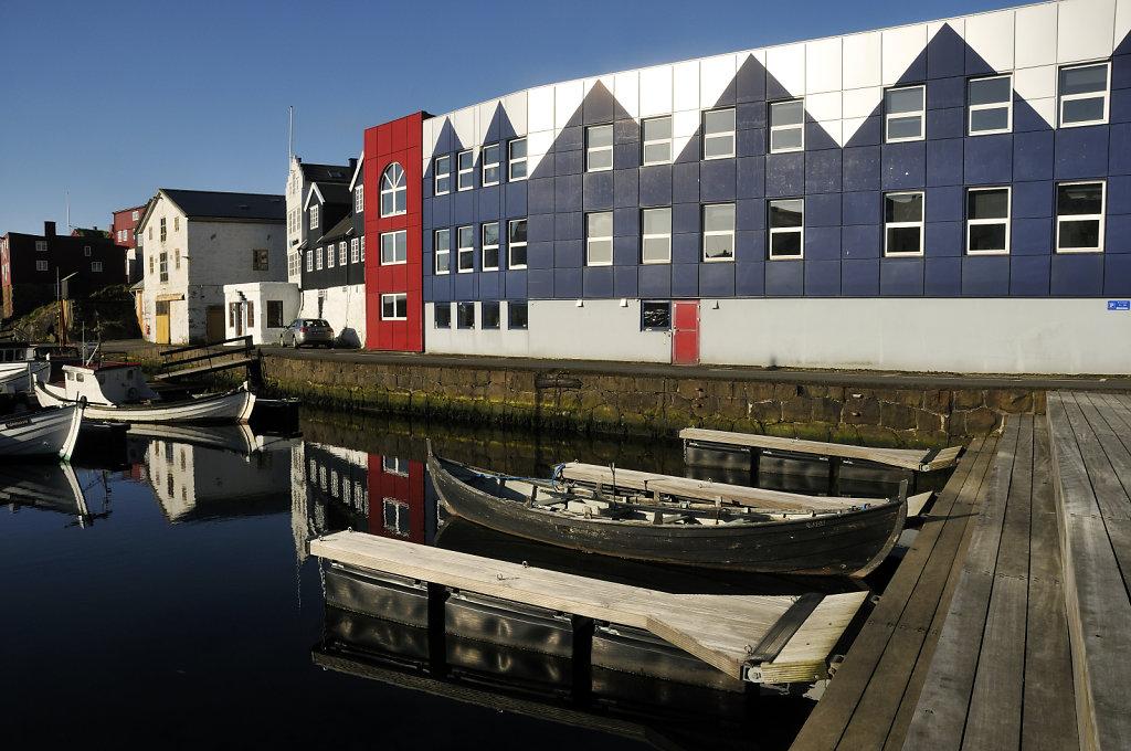 färöer inseln - thorshaven – am hafen teil 3