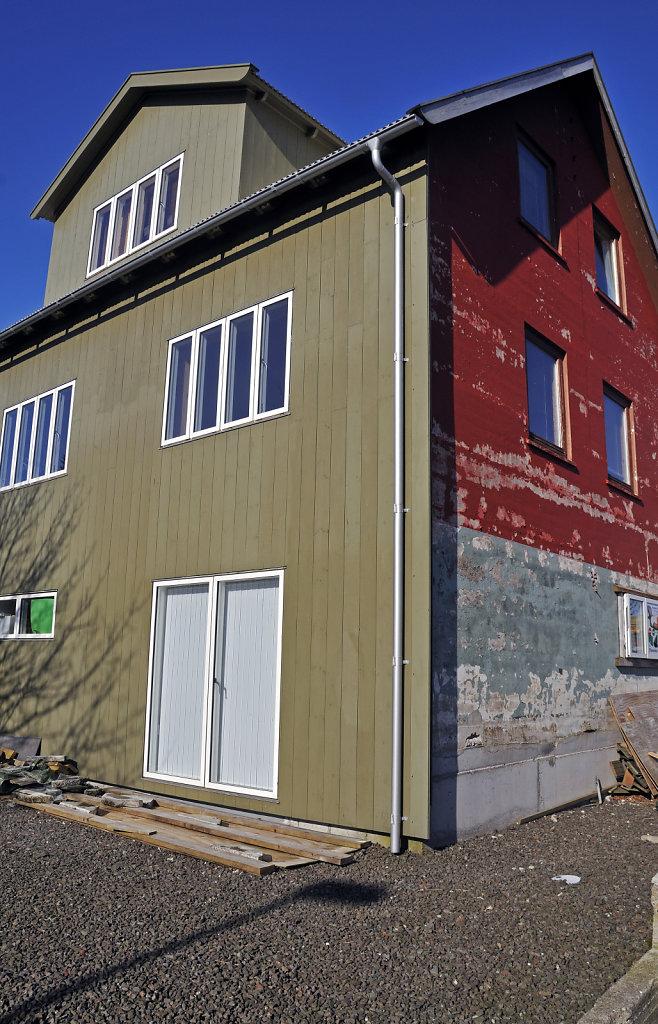 färöer inseln - thorshaven – facelifting