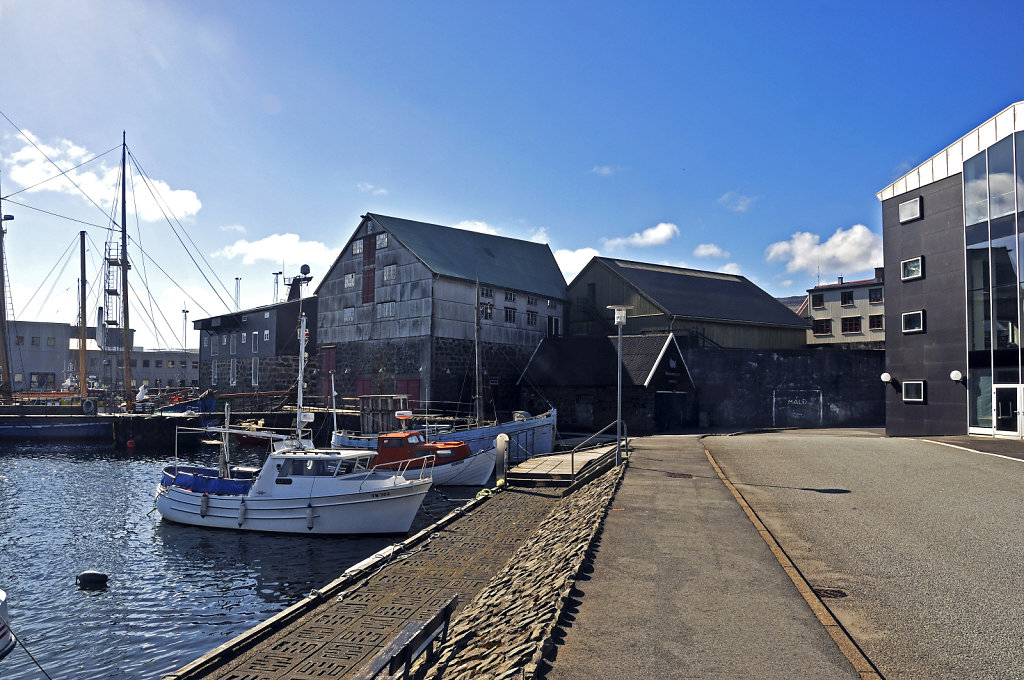 färöer inseln - thorshaven -  westhafen teil 2