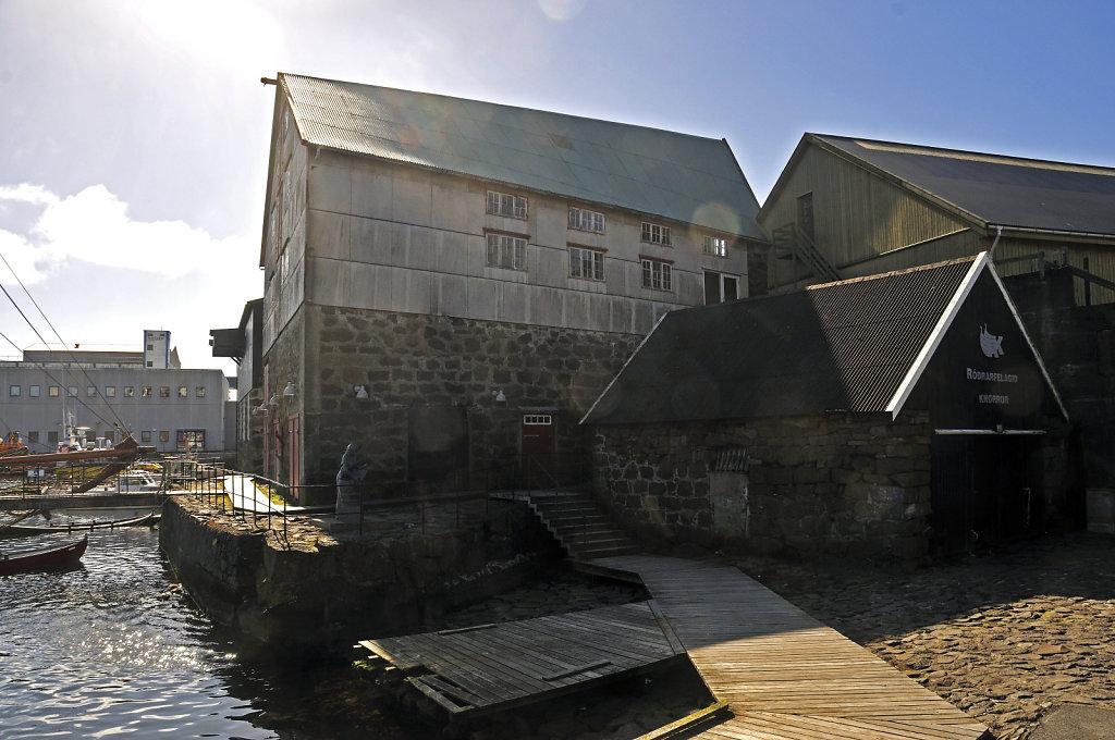 färöer inseln - thorshaven -  westhafen teil 3