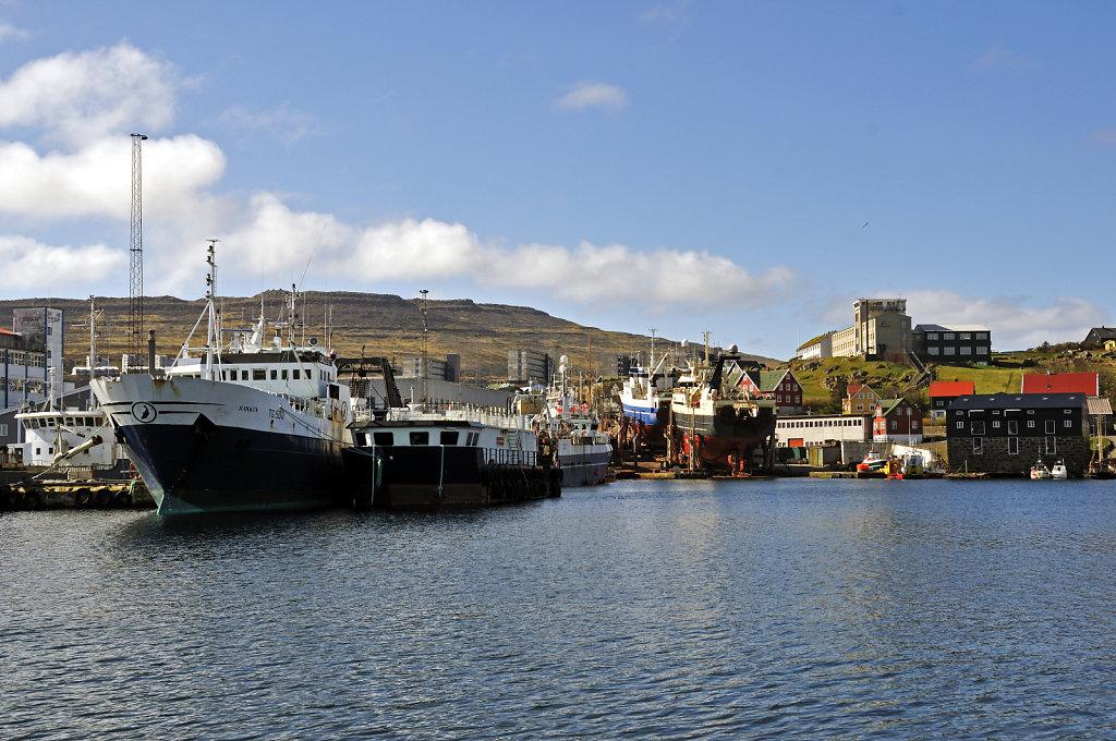 färöer inseln - thorshaven -  westhafen teil 6