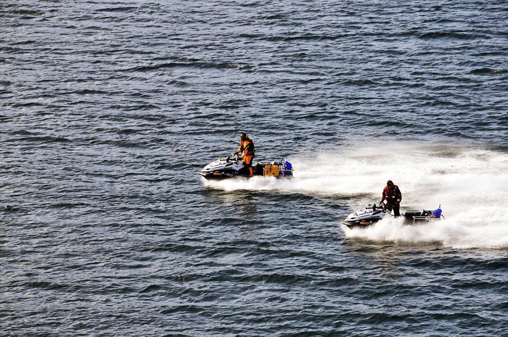 färöer inseln - vom schiff aus - vor thorshaven