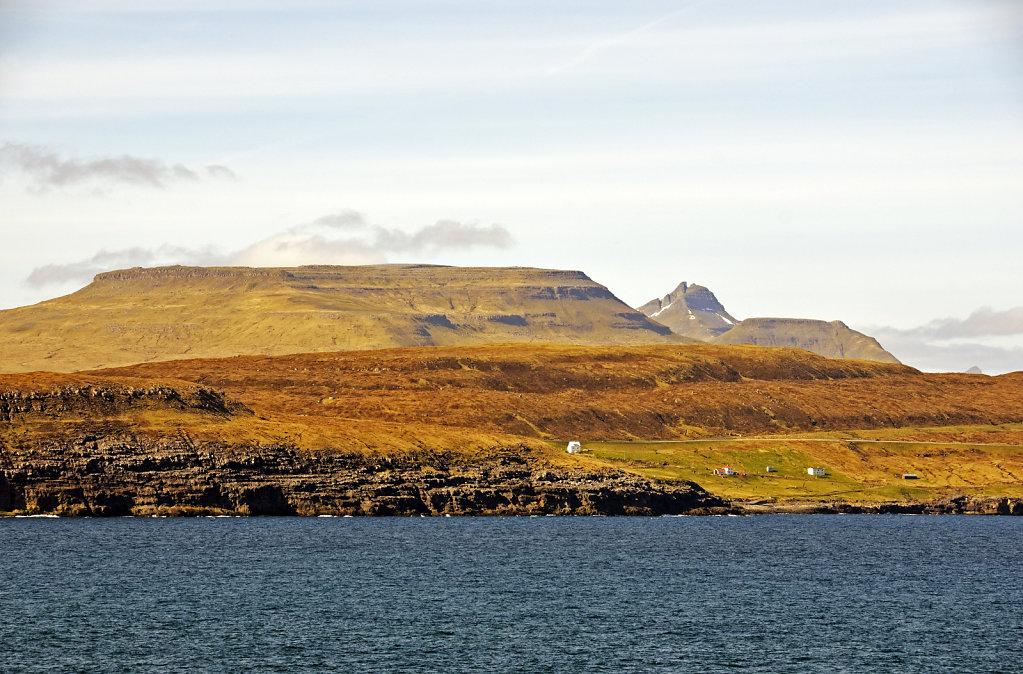 färöer inseln - vom schiff aus - bei rituvik teil 2