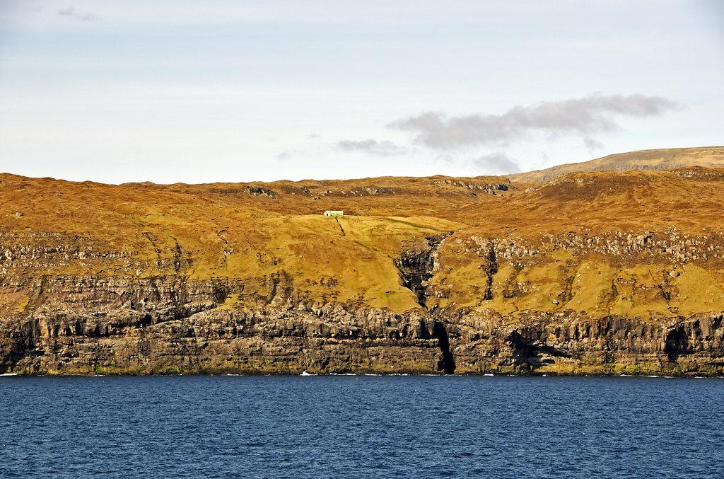 färöer inseln - vom schiff aus - bei rituvik teil 3