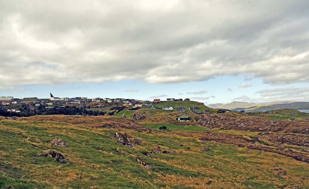 färöer inseln - thorshaven – hoyvik