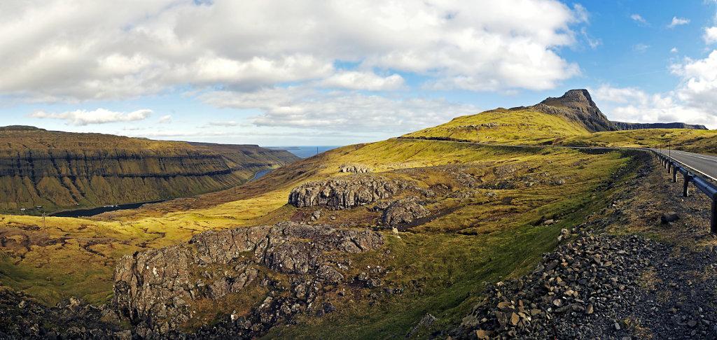 färöer inseln - auf streymoy - kaldbaksfjord und utmark teilpa