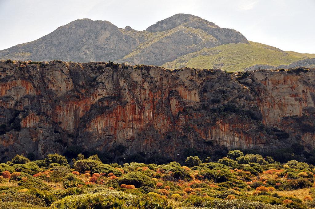 die nordwestspitze mit san vito lo capo - kletterwand teil 2 - 2