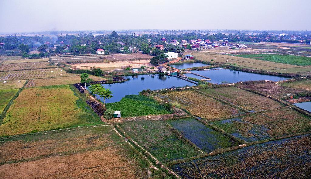 Kambodscha - Flug über Siem Reap (09)