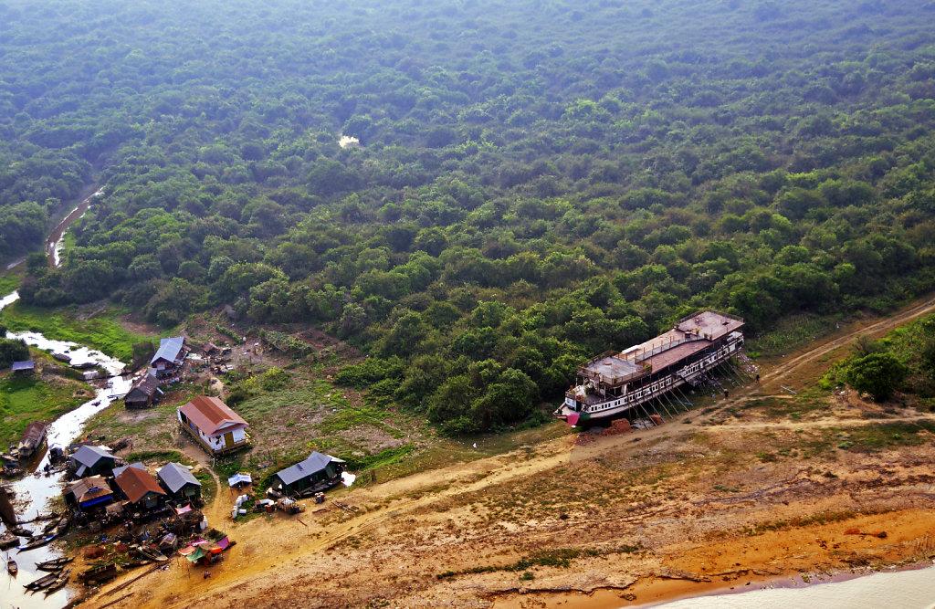Kambodscha - Flug über Siem Reap (19)