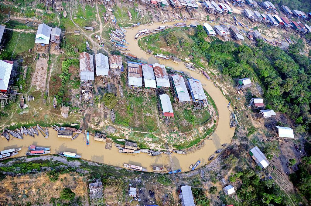 Kambodscha - Flug über Siem Reap (34)