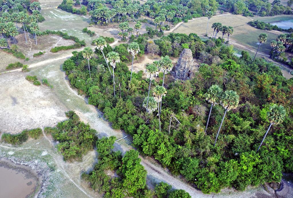 Kambodscha - Flug über Siem Reap (45)