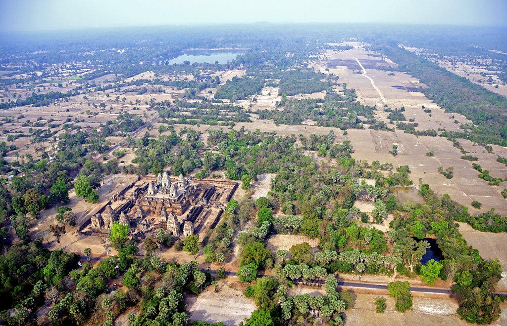 Kambodscha - Flug über Siem Reap (67)