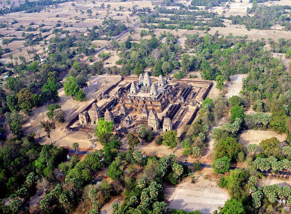 Kambodscha - Flug über Siem Reap (68)