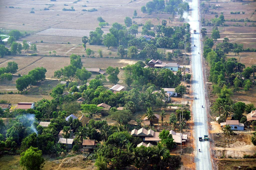 Kambodscha - Flug über Siem Reap (74)