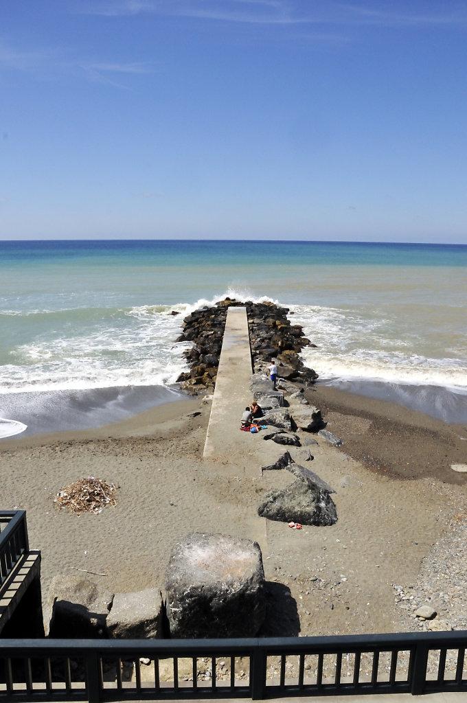 cinque terre – levanto - am strand teil 2