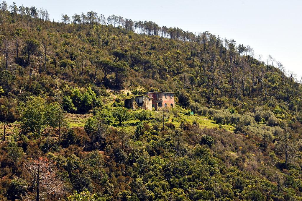 cinque terre – zwischen levanto und monterosso - verfall