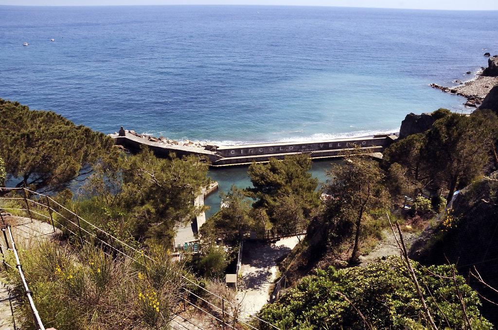 cinque terre – monterosso al mare - der alte hafen
