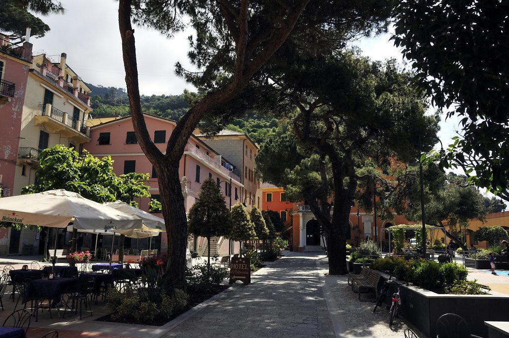 cinque terre – monterosso al mare - die piazza