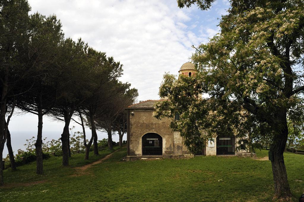 cinque terre - zwischen riomaggiore und porto venere – santuar