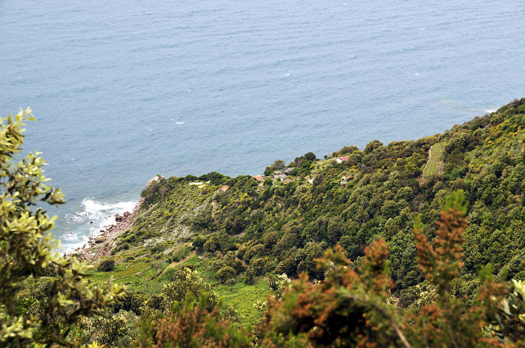 cinque terre - zwischen riomaggiore und porto venere – ausblic