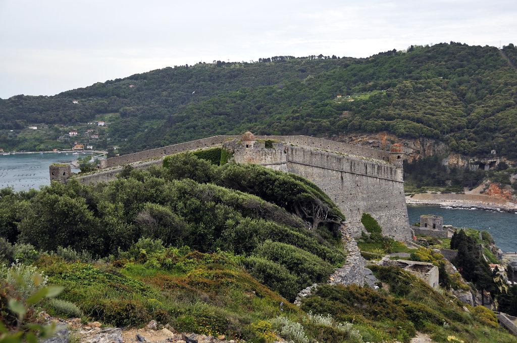 cinque terre -  porto venere - castello san giorgio teil 2