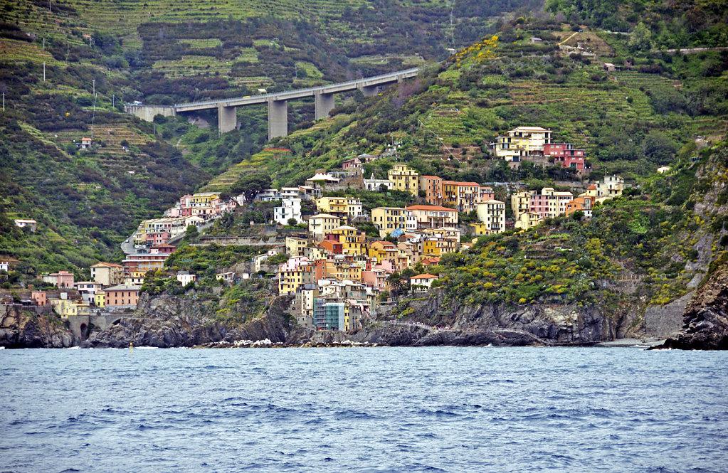 cinque terre -  mit dem boot von porto venere nach riomaggiore