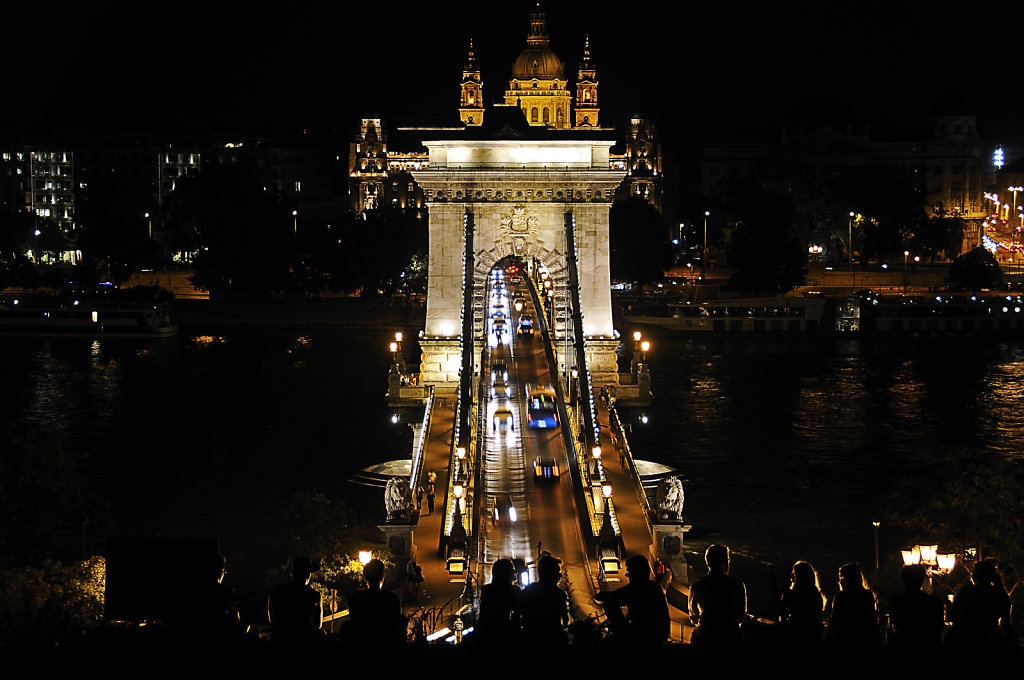 ungarn - budapest - night shots - viewpoint
