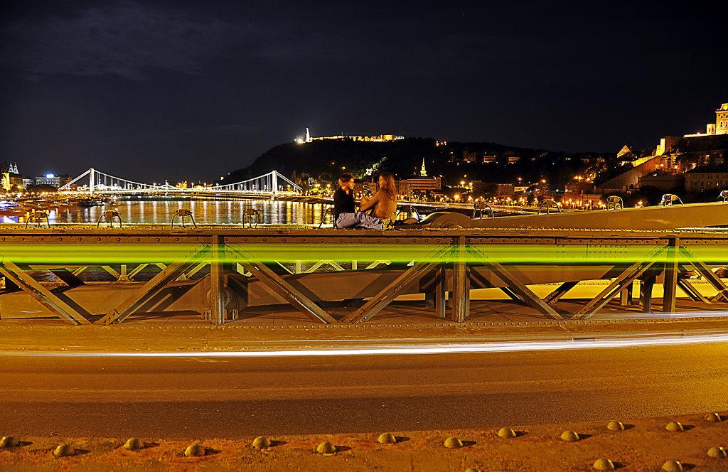 ungarn - budapest - night shots - das rendezvous