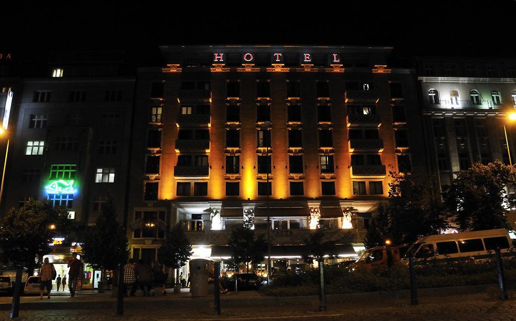 tschechien - prag - night shots - wenzelsplatz – teil 3