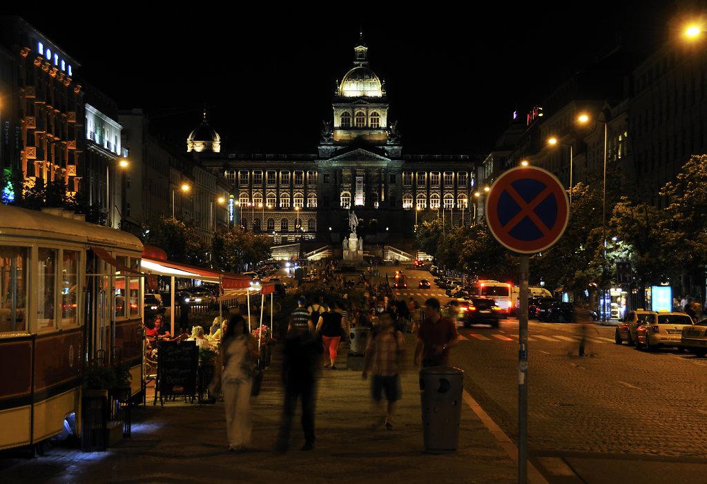 tschechien - prag - night shots - wenzelsplatz teil 6