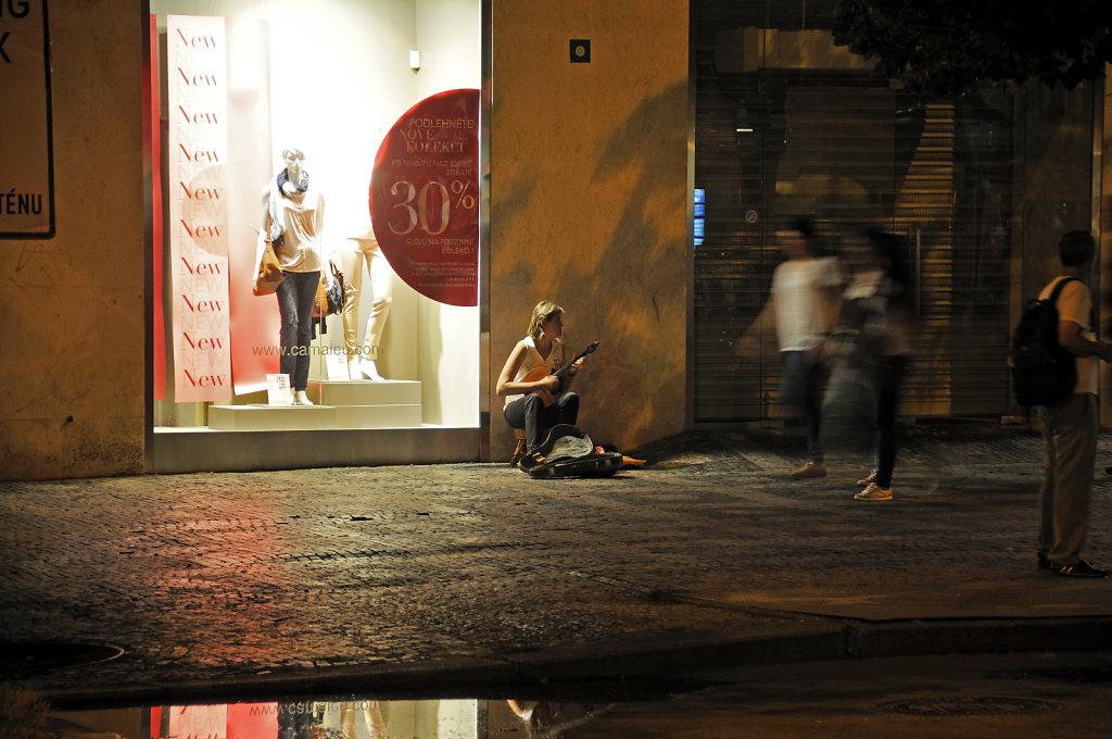 tschechien - prag - night shots - wenzelsplatz teil 7