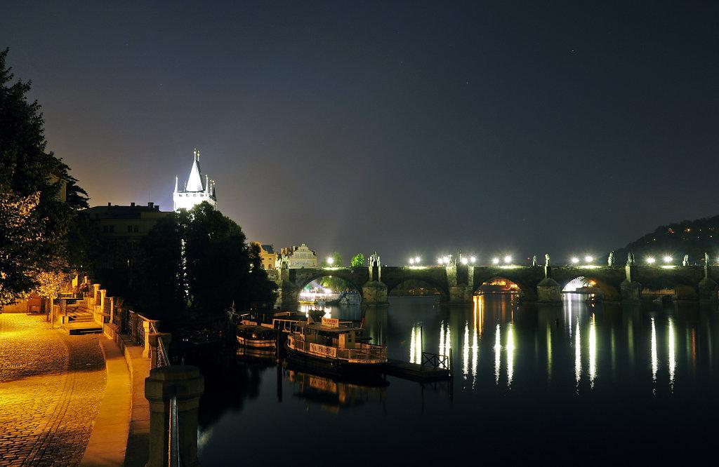 tschechien - prag - night shots - karlsbrücke teil 2