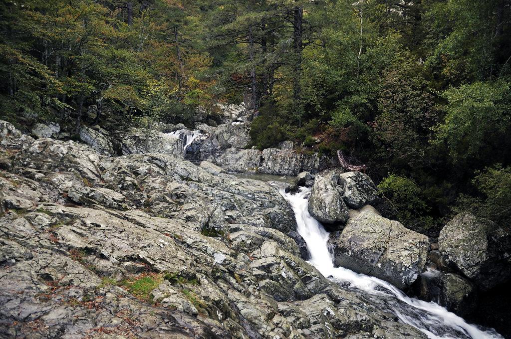 korsika – col de vizzanova - cascades de anglais