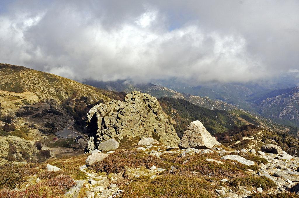 korsika  - aufstieg zum monte renoso und dem  bastanisee  – te