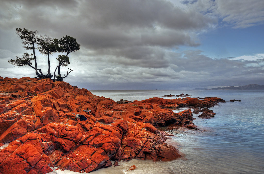 korsika  - plage de  palombaggia -  teil 3