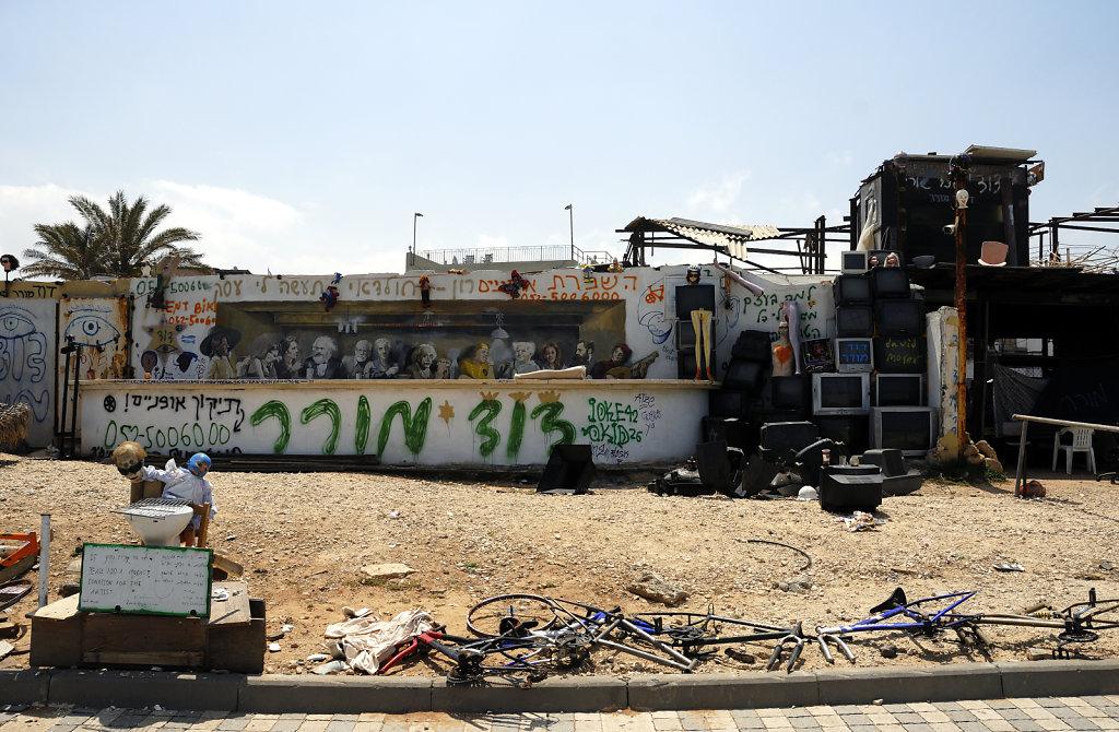 israel – tel aviv - homat hayam  promenade