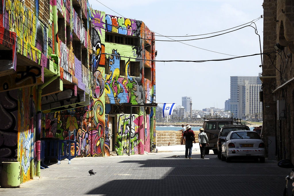 israel – tel aviv – jaffa - blick zurück
