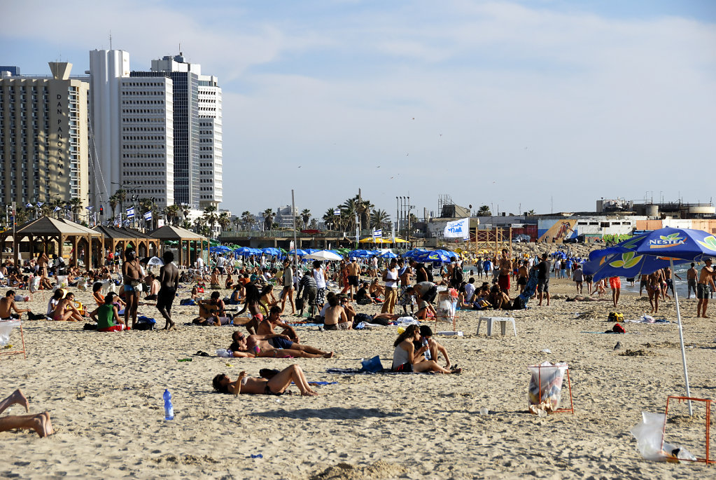 israel – tel aviv - am strand teil 5