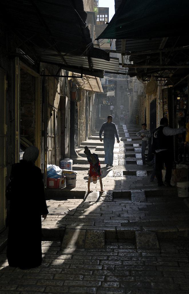 israel – jerusalem - in der altstadt - lebensfreude
