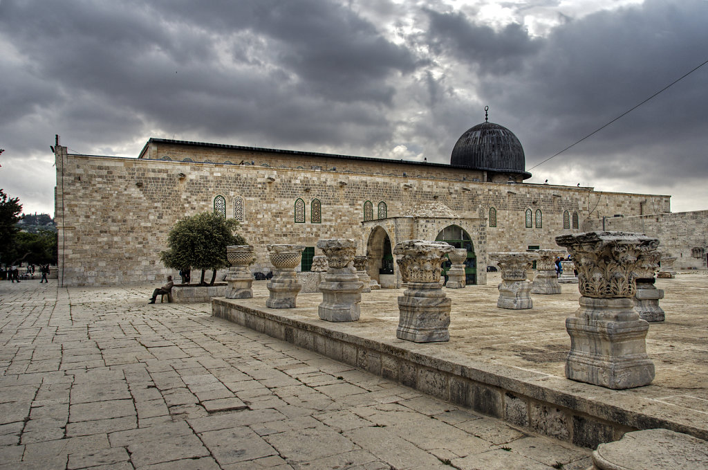 israel – jerusalem - der tempelberg - die al-aqsa moschee