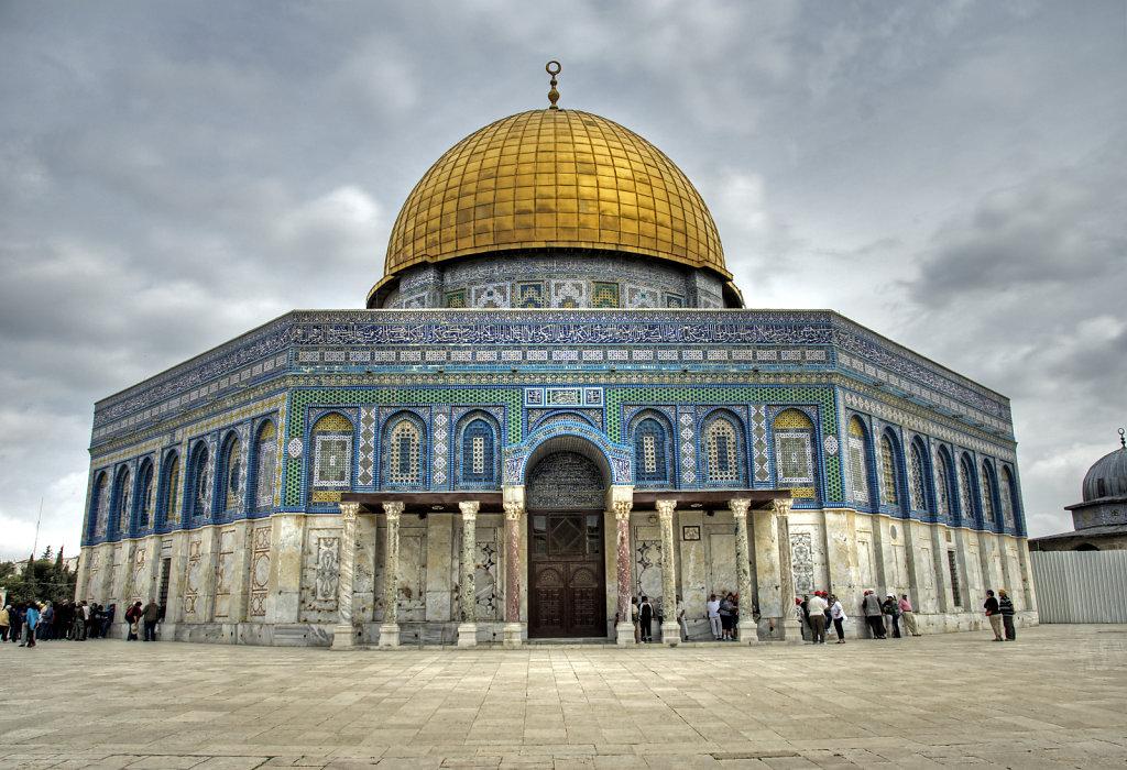 israel – jerusalem - der tempelberg - der felsendom