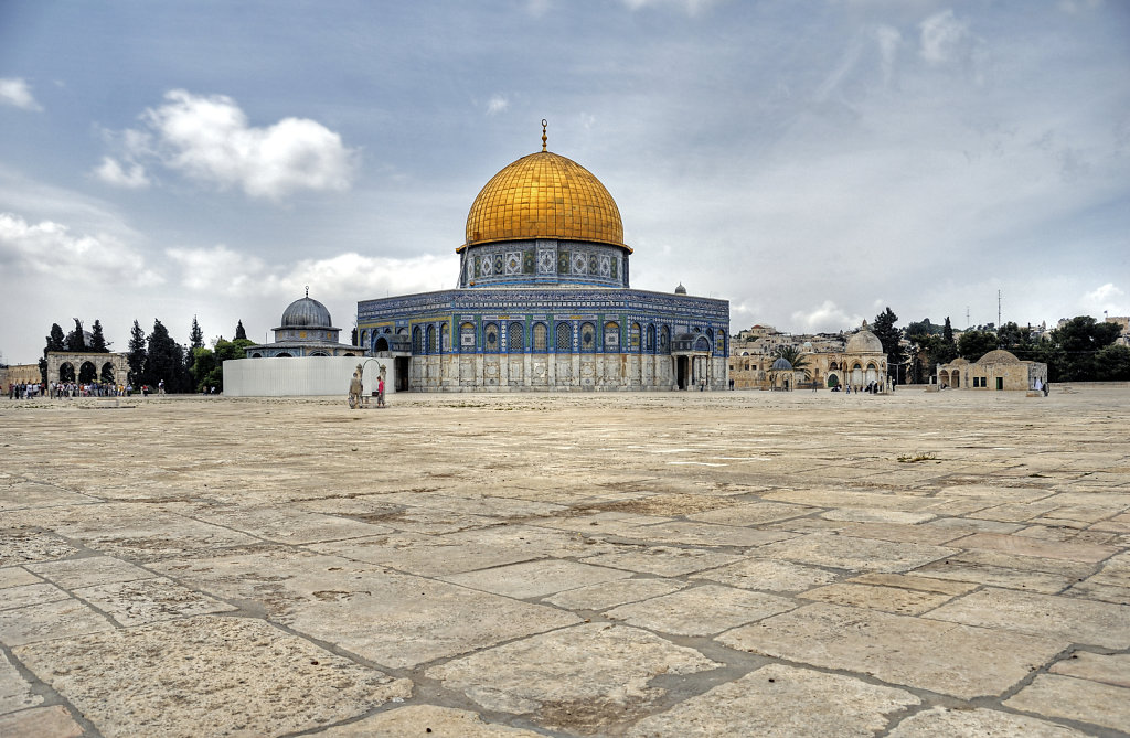 israel – jerusalem - der tempelberg -  der felsendom teil 2