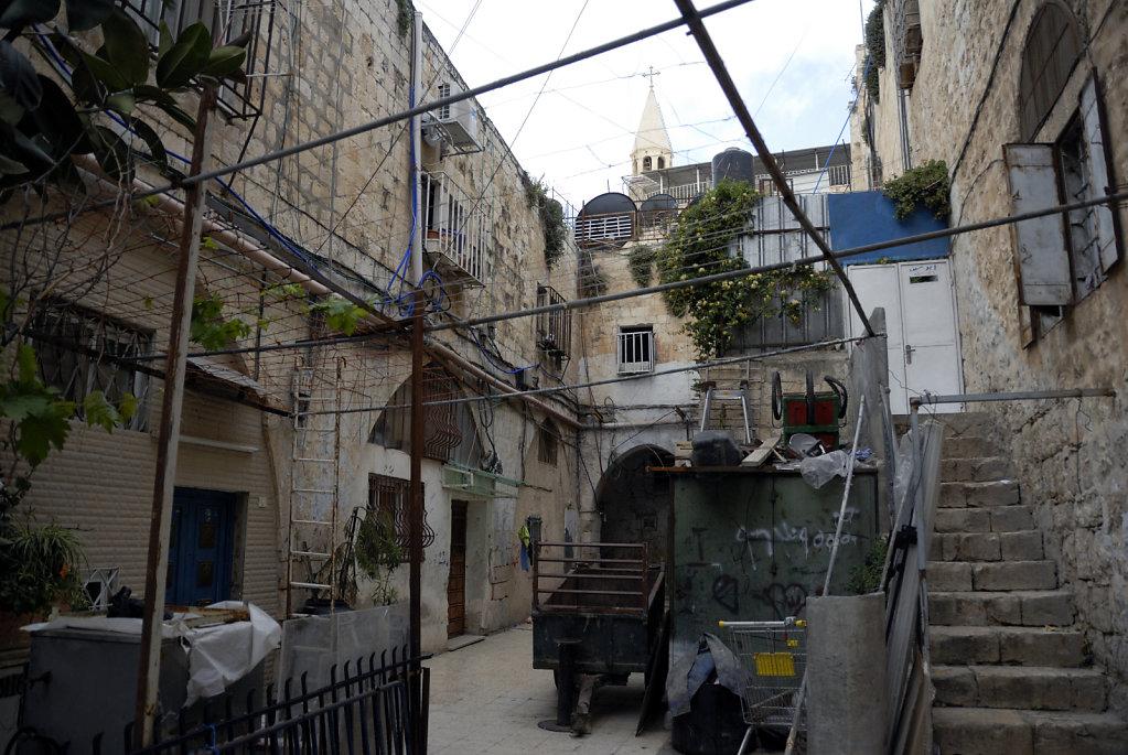 israel – jerusalem - in der altstadt - im hinterhof