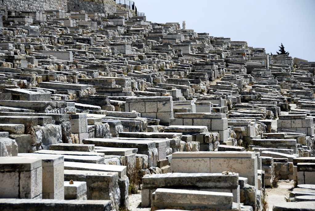 israel – jerusalem - der ölberg - das gräberfeld teil 2