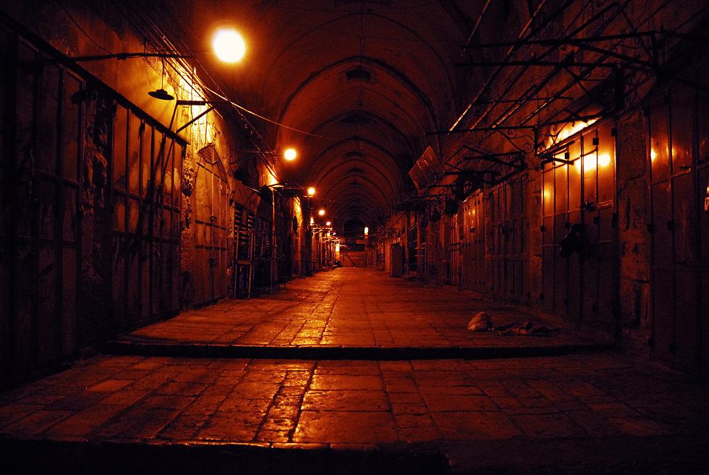 israel – jerusalem - in der altstadt nachts teil 2
