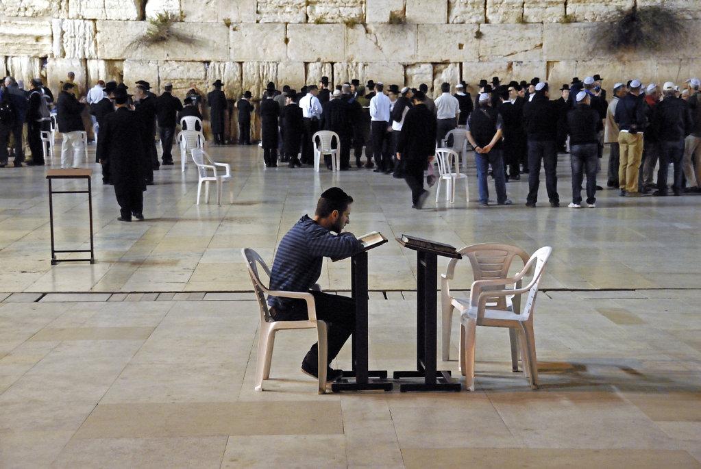 israel – jerusalem - vor der klagemauer nachts teil 2