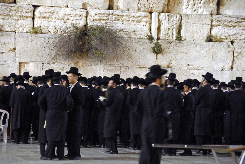 israel – jerusalem - vor der klagemauer nachts teil 4