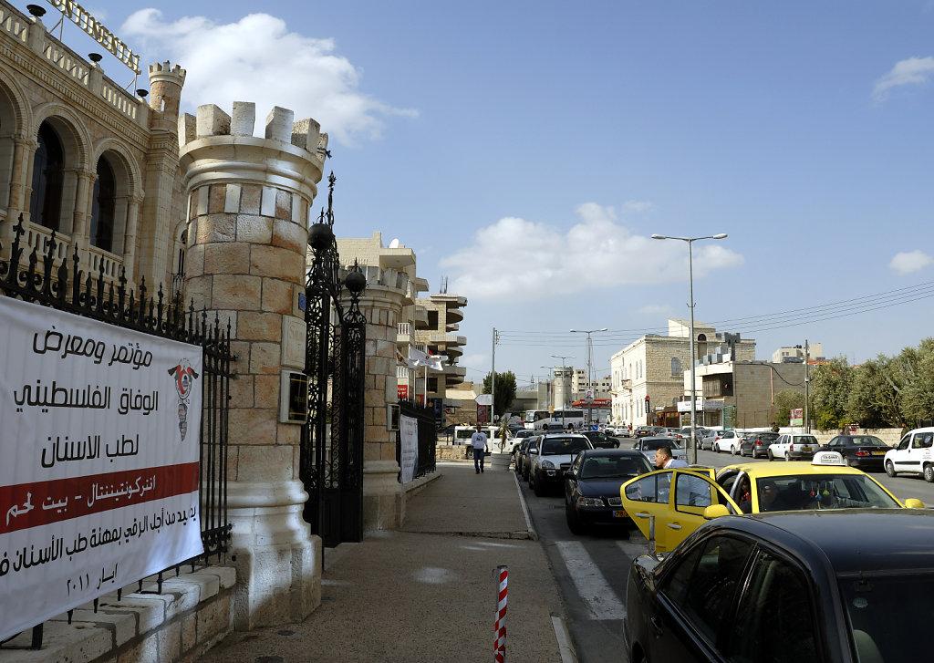 palästina- bethlehem - das interconti